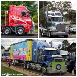 Canberra Convoy Montage